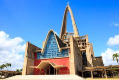 Basiliekla Altagracia in Dominicaanse Republiek Stock Foto's