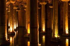 Basiliekreservoir Stock Afbeeldingen