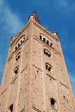 Basilika-Abtei von San Mercuriale in Forlì Stockfotografie