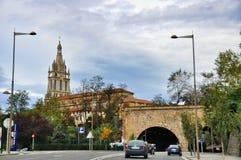 Basilika av Begona i Bilbao Fotografering för Bildbyråer