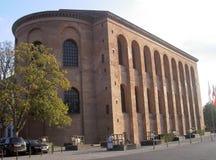 Basilika av Constantine Arkivfoton