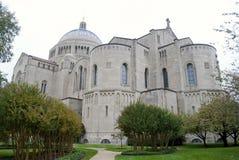 Basilika av den nationella relikskrin av den obefläckade befruktningen Arkivfoto