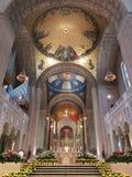 Basilika av den nationella relikskrin av inre för obefläckad befruktning royaltyfri foto
