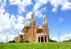 Basilika av den sakrala hjärtan i Bryssel Royaltyfri Foto