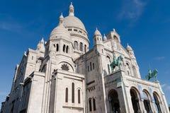 Basilika av den sakrala hjärtan, Paris, Frankrike Arkivfoton
