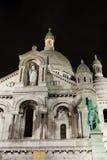 Basilika av den sakrala hjärtan, Paris, Frankrike Arkivbild