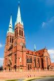 Basilika av helgonet Antoni i Rybnik, Silesia, Polen Arkivbilder