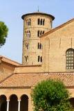 Basilika av helgonet Apollinare i Classe, Italien Arkivbild