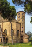 Basilika av helgonet Apollinaris i Classe, Italien Royaltyfri Foto
