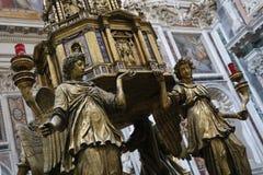 Basilika av helgonet Mary Major royaltyfri foto