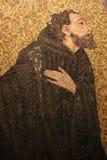 Basilika av helgonet Praxedes arkivbild