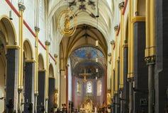 Basilika av helgonet Servatius, Maastricht, Nederländerna fotografering för bildbyråer