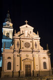 Basilika av Mary Help av kristen - Brezje Royaltyfria Bilder