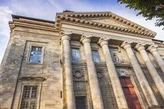 Basilika av Notre-Dame de la Daurade i Toulouse fotografering för bildbyråer