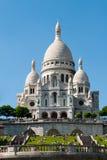 Basilika av Sacréen Cœur Arkivbilder