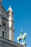 Basilika av Sacréen Cœur VII Arkivfoton