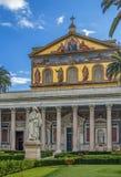 Basilika av Saint Paul, Rome Fotografering för Bildbyråer