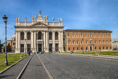 Basilika av San Giovanni Arkivbilder