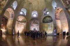Basilika av San Lorenzo, Milan Royaltyfria Foton