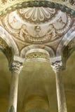 Basilika av San Vitale Interior Arkivfoto