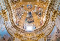 Basilika av Sant ` Andrea della Valle i Rome, Italien fotografering för bildbyråer