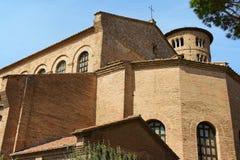 Basilika av Sant'Apollinare i Classe, Italien Royaltyfria Foton