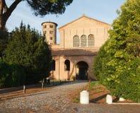 Basilika av Sant ` Apollinare i Classe, Ravenna, Italien Fotografering för Bildbyråer