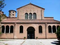 Basilika av Sant 'Apollinare i Classe, Ravenna, Italien arkivbild