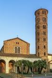 Basilika av Sant Apollinare Nuovo, Ravenna italy Royaltyfri Foto
