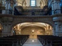 Basilika av Santa Maria del Coro i San Sebastian - Donostia, Spanien royaltyfria bilder