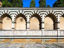 Basilika av Santa Maria Novella - Firenze Italien Royaltyfria Bilder