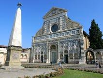 Basilika av Santa Maria Novella, Florence Royaltyfri Fotografi