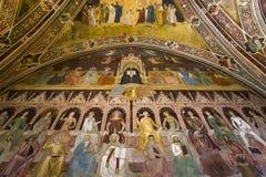 Basilika av Santa Maria Novella, Florence, Italien Arkivbild