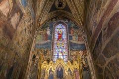 Basilika av Santa Maria Novella, Florence, Italien Royaltyfri Bild