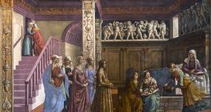 Basilika av Santa Maria Novella, Florence, Italien Royaltyfri Foto