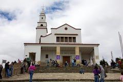 Basilika av senoren de Monserrate Royaltyfria Foton