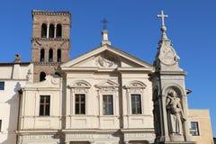 Basilika av St Bartholomew Arkivbild