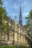 Basilika av St Bartholomew, Meerssen, Nederländerna Royaltyfria Foton