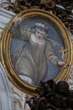 Basilika av St Mary av altaret av himmel fotografering för bildbyråer