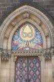 Basilika av St Peter och St Paul, Vysehrad, mosaik, Prague, Tjeckien fotografering för bildbyråer