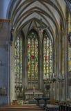 Basilika av St Ursula, Cologne, Tyskland royaltyfria foton