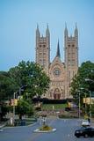 Basilika av vår dam Immaculate In Guelph, Ontario, Kanada arkivbild