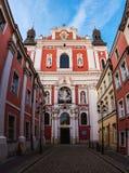 Basilika av vår dam av evig hjälp i Poznan Royaltyfri Fotografi