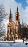 Basilika in Bialystok. Lizenzfreie Stockfotos