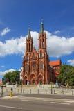Basilika in Bialystok Lizenzfreies Stockbild
