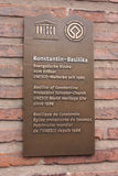 Basilika Constantijn Images stock