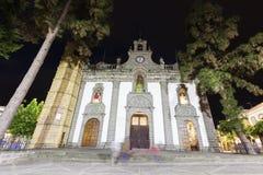 Basilika de Nuestra Senora del Pino i Teror Arkivfoto