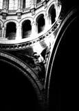 Basilika de Sacre Coeur kyrka i Paris Arkivbild