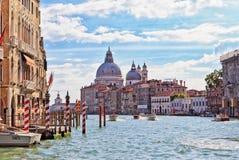 Basilika de Santa Maria della Salute, Venedig arkivfoton