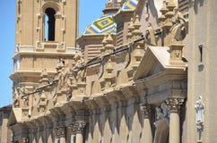 Basilika del pilar Stockbilder